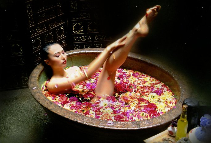 flower_bath_by_SAMLIM